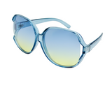 Oversized Sunglasses - Sweet Treats - Blue - Moka Queenz