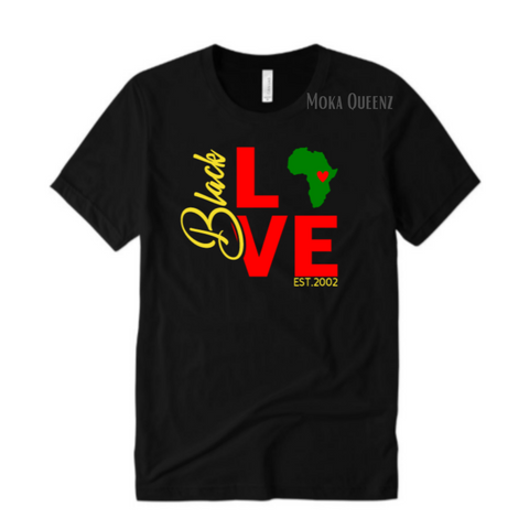 Black Love Couple Shirt