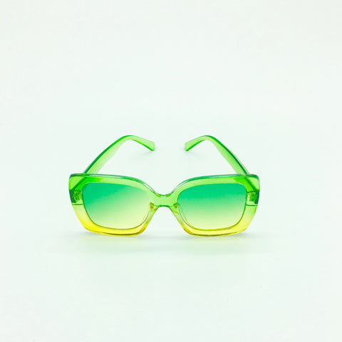 Oversized Sunglasses - Cotton Candy Glasses - Green - MoKa Queenz