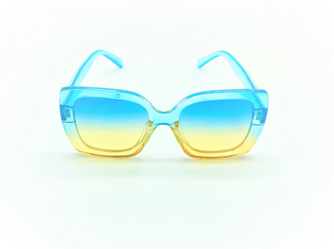 Oversized Sunglasses - Cotton Candy SunGlasses - Blue - MoKa Queenz