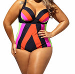Plus Size Swimwear | One Piece Plus size Swimsuit - MoKa Queenz