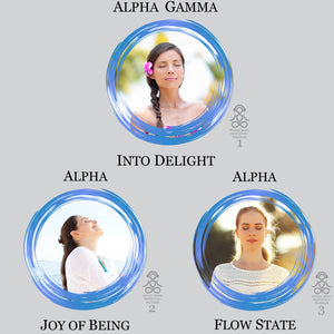 Alpha Wave Audio Meditation Bundle. High Quality MP3 Meditations for Light Meditation and Deep Relaxation