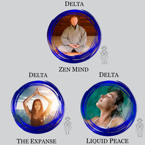 Delta Waves Audio MP3 Meditation Series. Profound Meditation, enhanced sleep, HGH, mind body connection.