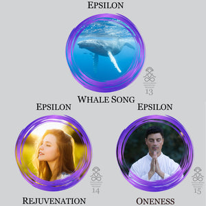 Epsilon Waves Audio Meditations. High Quality MP3 Audio Meditation Series for ultra deep meditation, mind body spirit connection, restful sleep and more