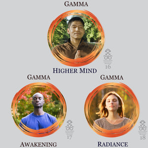 Gamma Waves Audio MP3 Meditations. High Quality MP3 Meditations for awakening higher cognitive functioning. Spiritual Awakening, Compassion and Extreme Focus