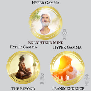 Hyper-Gamma Waves Audio Meditation Series. High Quality MP3 Audio Meditations. For Mystical Awakening and Supernatural Awareness.