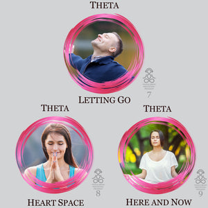 Theta Waves Audio MP3 Meditations. High Quality Brainwave Entrainment for deep meditation, emotional balance, intuition, creativity and stress reduction.