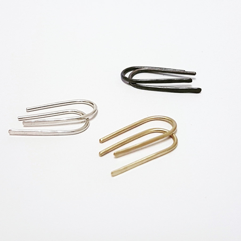 Minimal Hook Earrings