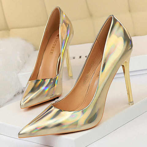 Women Pumps Shoes New Leather Fashion Women Sexy High Heels Shoes Office Shoes Women's Wedding Shoes Party