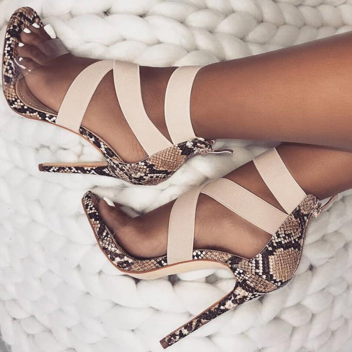 Gladiator Sandals Women Club Party Sexy Stretch Fabric Zipper Sandals Shoes Thin Heels Sandalhas Feminina