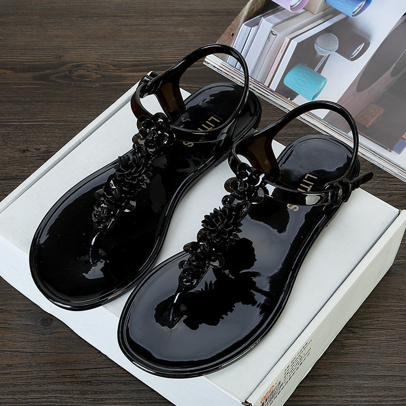 Fashion Sandals Women Flat Shoes Bandage Leisure Lady Casual Sandals Peep Toe Outdoor