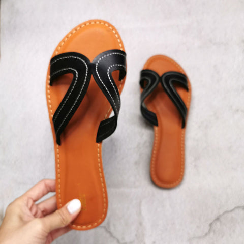 Women Seaside Sandal Fashion Comfort Beach Sandals Female Slides Slip On Casual Shoes Ladies Footwear
