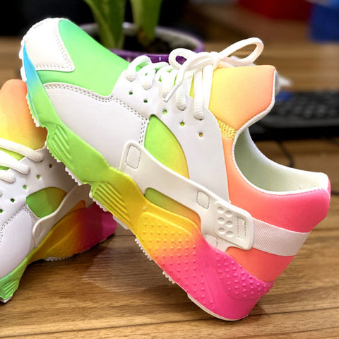 Fashion Breathable Walking Sneakers Cosy Leisure Shoes