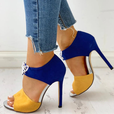 High Heels Pumps Sandals Shoes Woman New Fashion Sexy Ladies Increased Stiletto Super Peep Toe Shoes