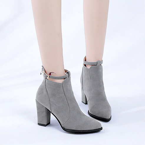 Women Shoes Casual Women High Heels Pumps Warm Ankle Boots Women Shoes