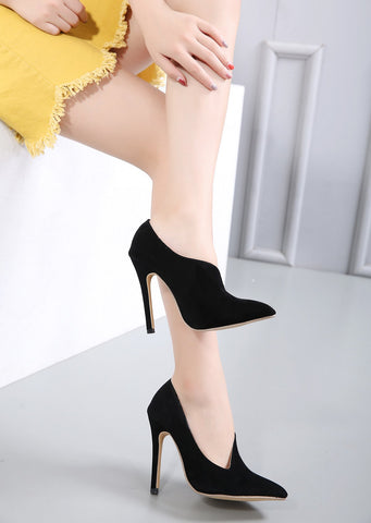 Pointed Toe Fashion Women Stiletto High Heels Shoes