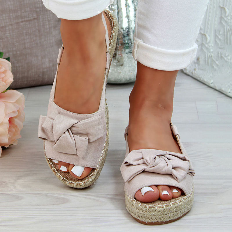 Women Sandals Sweet Shoes Woman Flat Sandals Beach Casual Shoes With Low Heels Platform Sandals