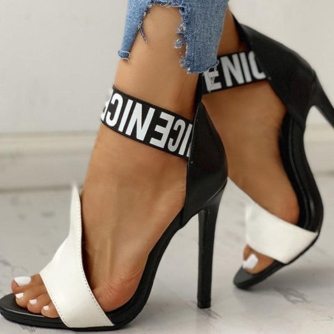 Women Pumps High Heels Shoes Thin High Heels Women Sandals Female Sexy Party Slip On Shoes Woman