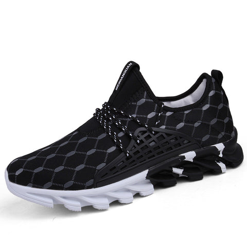 Sport Sneakers Comfortable Sports Outdoor Running Shoes  Breathable Footwear For Lace-up Shoes