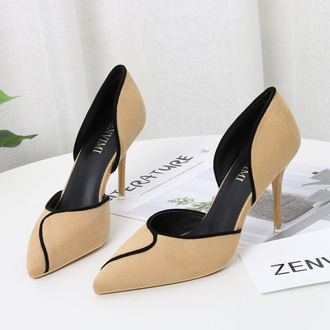 Women Pumps Fashion High Heels Shoes Woman Pointed Wedding Shoes Sexy Classic Pumps Thin Heels Office Female Shoes Stiletto