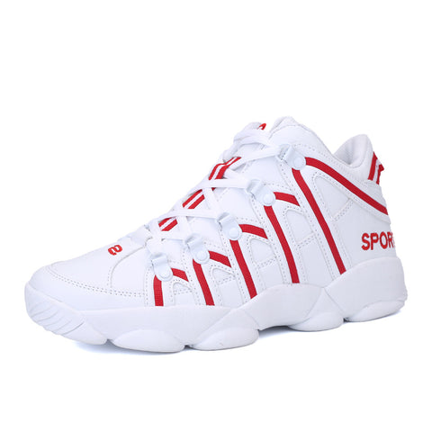New Basketball Shoes High Top Sports Cushioning Athletic Shoes Comfortable Sneakers