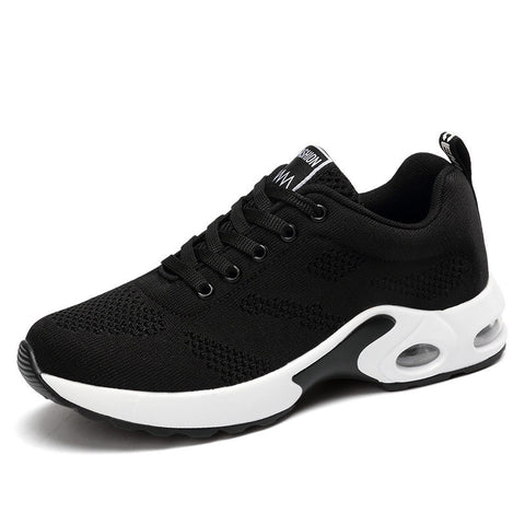 Fashion Lightweight Sneakers Running Shoes Outdoor Sports Shoes Breathable Mesh Comfort Running Shoes Air Cushion Lace