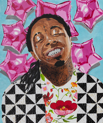 ASHLEY LONGSHORE LIL WAYNE ART