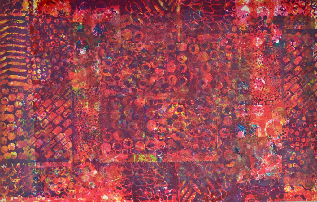 Sam Gilliam - Prints & Monotypes from the 1970s