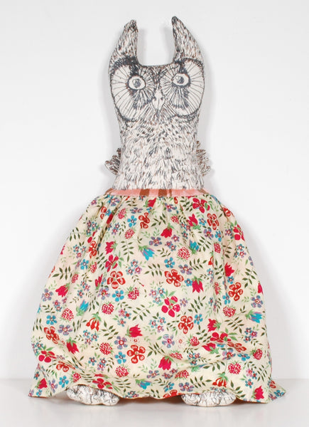 SOLD - Kiki Smith - Owl and Pussycat