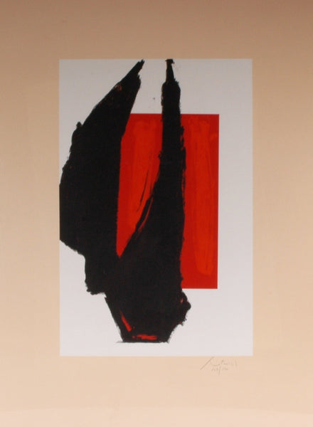 Robert Motherwell - Art 1981 Chicago Print