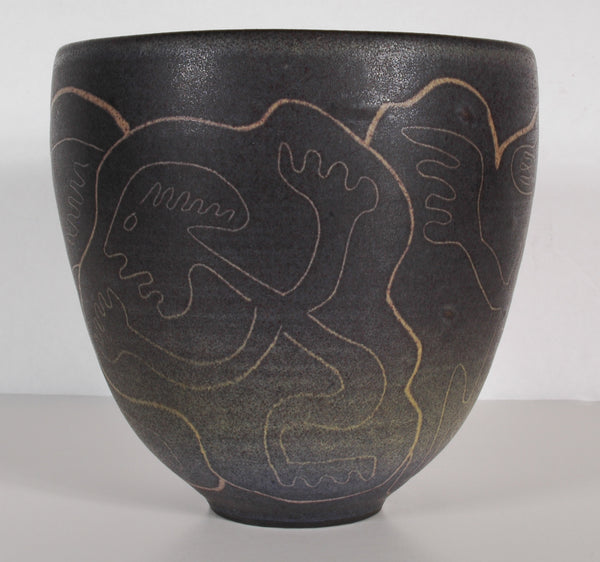 SOLD - Edwin and Mary Scheier - Studio Pottery Vase