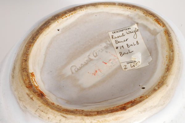 SOLD - Russel Wright - Bulb Bowl