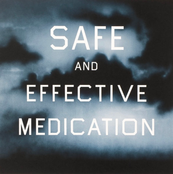 Ed Ruscha - Safe and Effective Medication