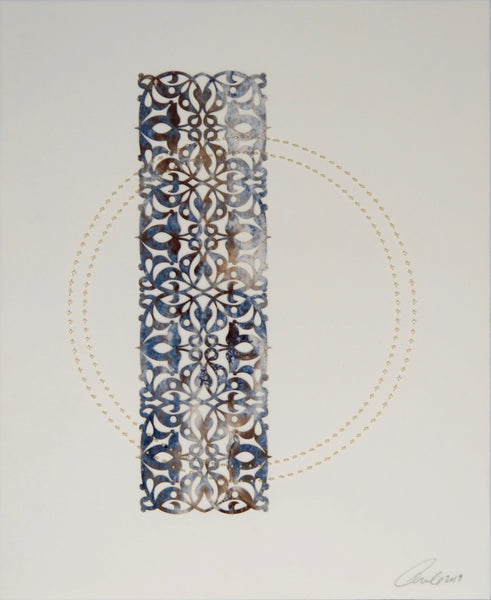 Anila Quayyum Agha - Antique Lace (Circle - 2)