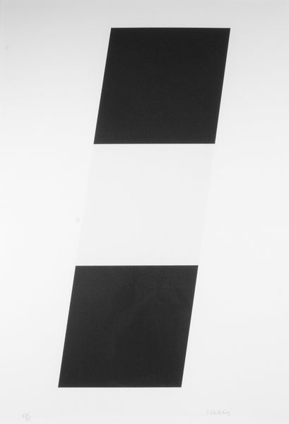 Ellsworth Kelly - Black/White/Black