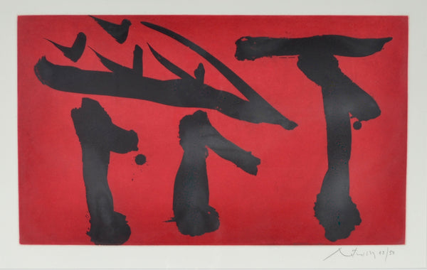 Robert Motherwell - Put Out All Flags