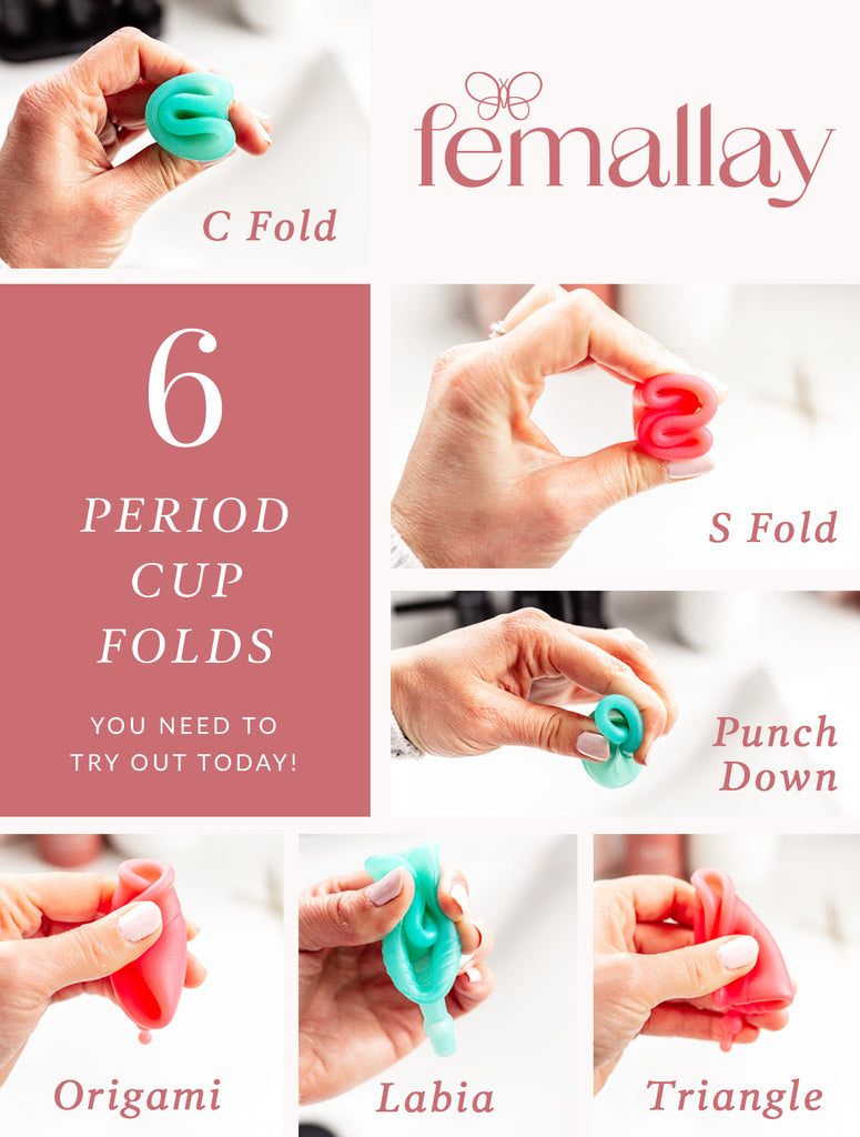 6 Menstrual Cup Folds You Can Try for Your Period
