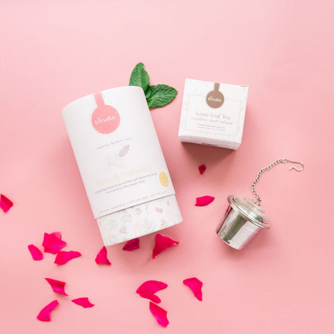 Herbal tea for women with stainless steel single serve