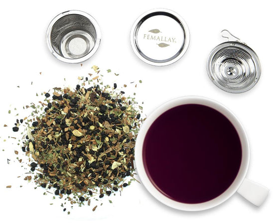 Organic Berry Boost Immuni-Tea Loose Leaf Herbal Tea - Femallay
