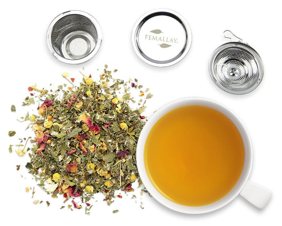 Organic Perfectly Balanced Loose Leaf Women's Wellness Tea - Femallay