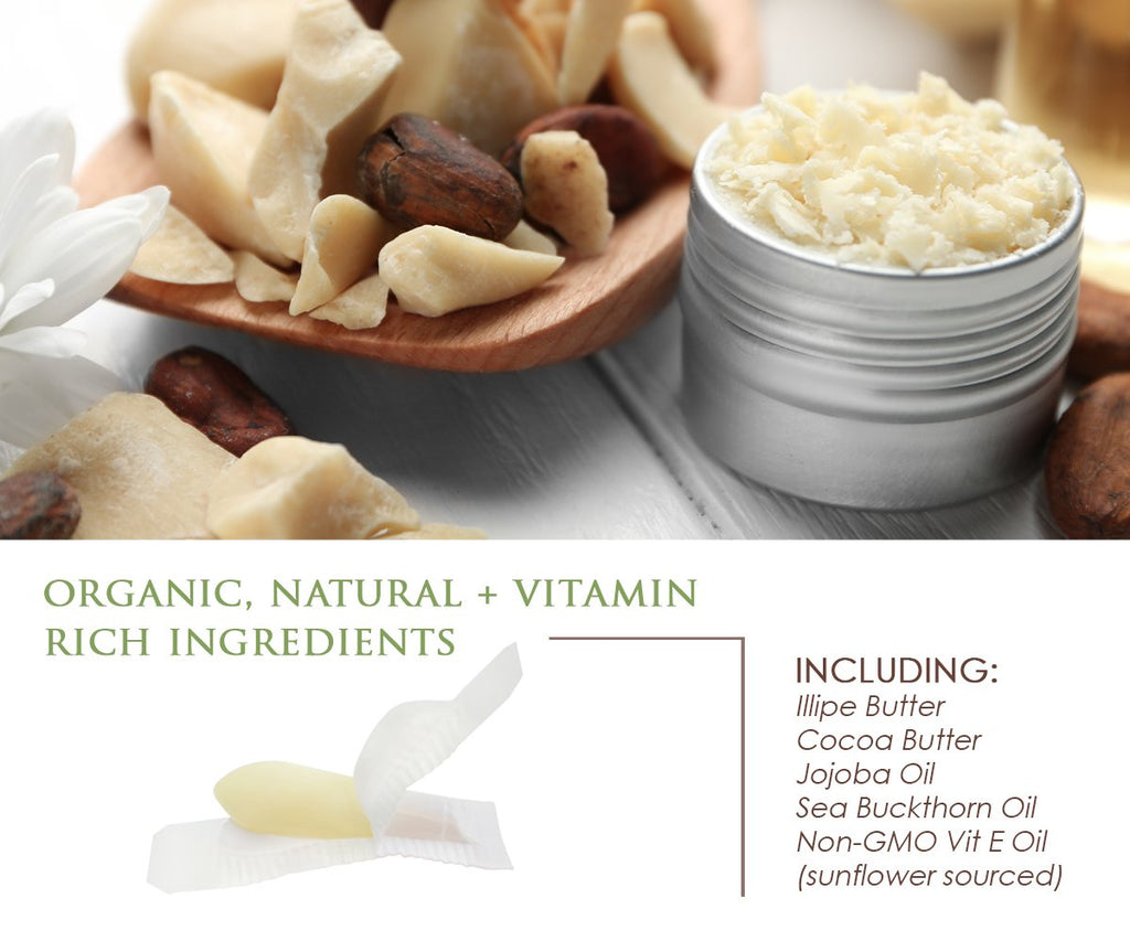 Organic Creamy Coconut Vaginal Moisturizing Suppository Melts