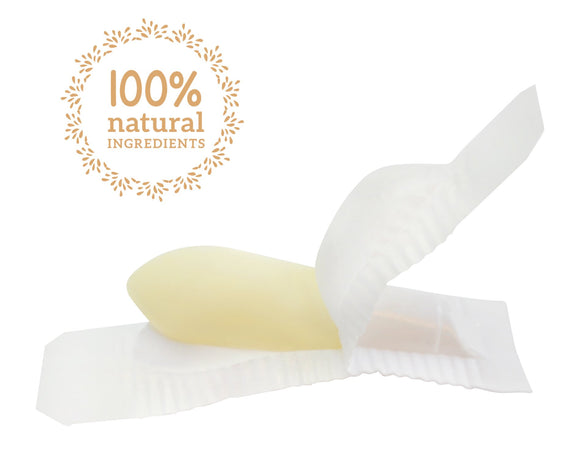 Sample of Tropical Pineapple Vaginal Moisturizing Suppositories