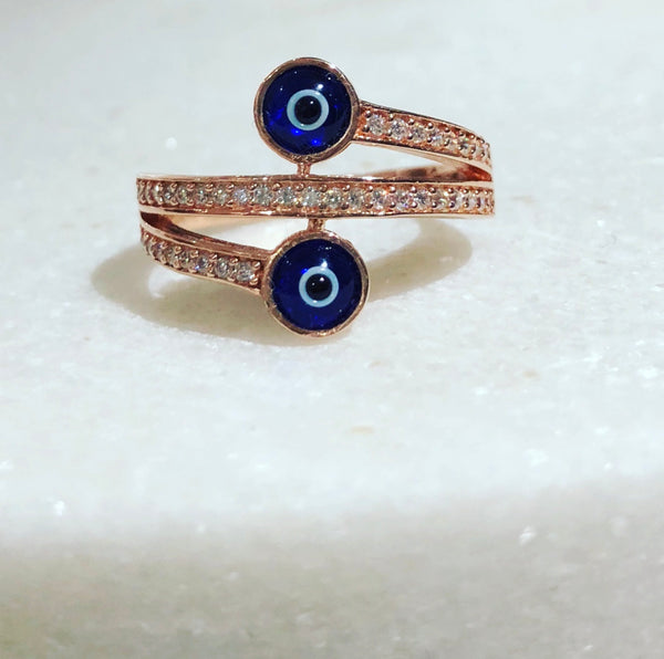 Aegean Eyes Ring