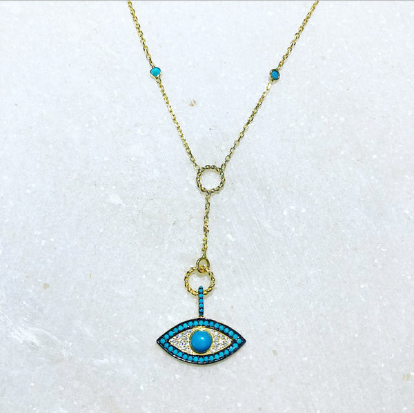 Aegean Eyes Necklace