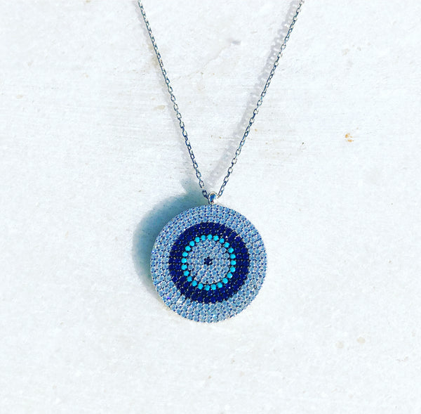 Blue Mati Necklace
