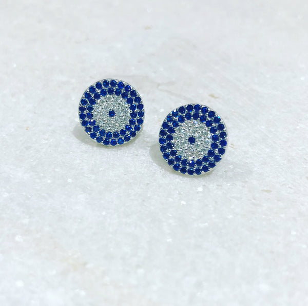 Endless Blue Earrings