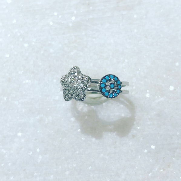 Turquoise Blue Ring