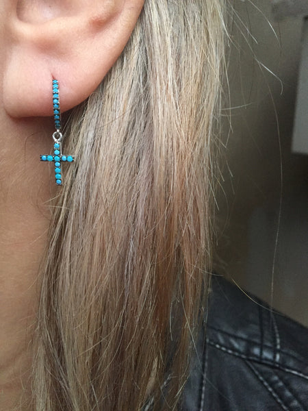 Endless Blu Earrings