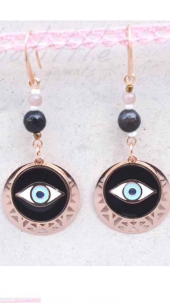 Midnight Eyes Earrings