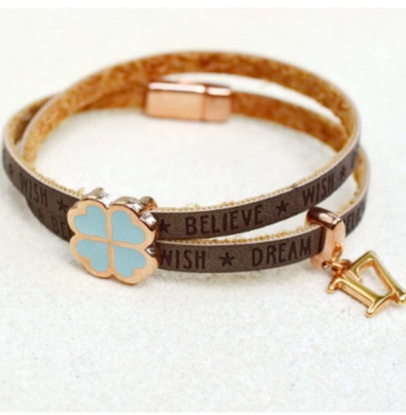 Wishes Leather Bracelet